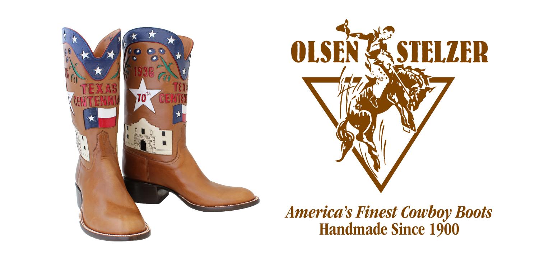 651b10b0de2 Olsen-Stelzer Boots | Handmade Cowboy Boots | America's Finest ...